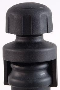 Sektflaschenverschluss, Kunststoff