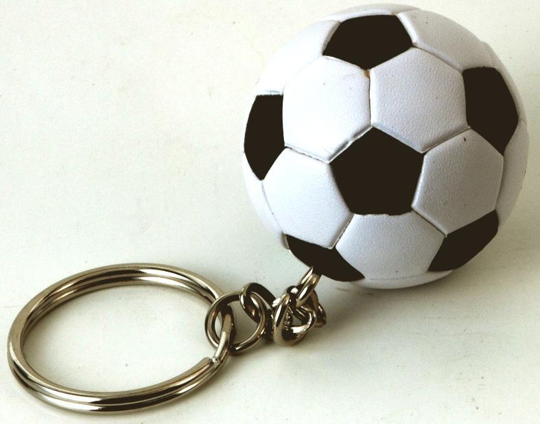 Fußball-Schlüsselanhänger