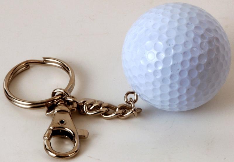 Golf-Schlüsselanhänger