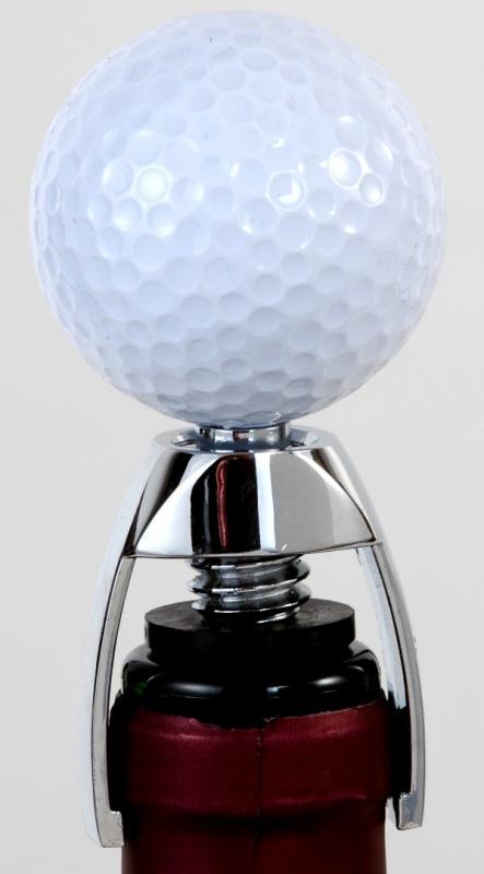 Golf-Weinflaschenverschluss